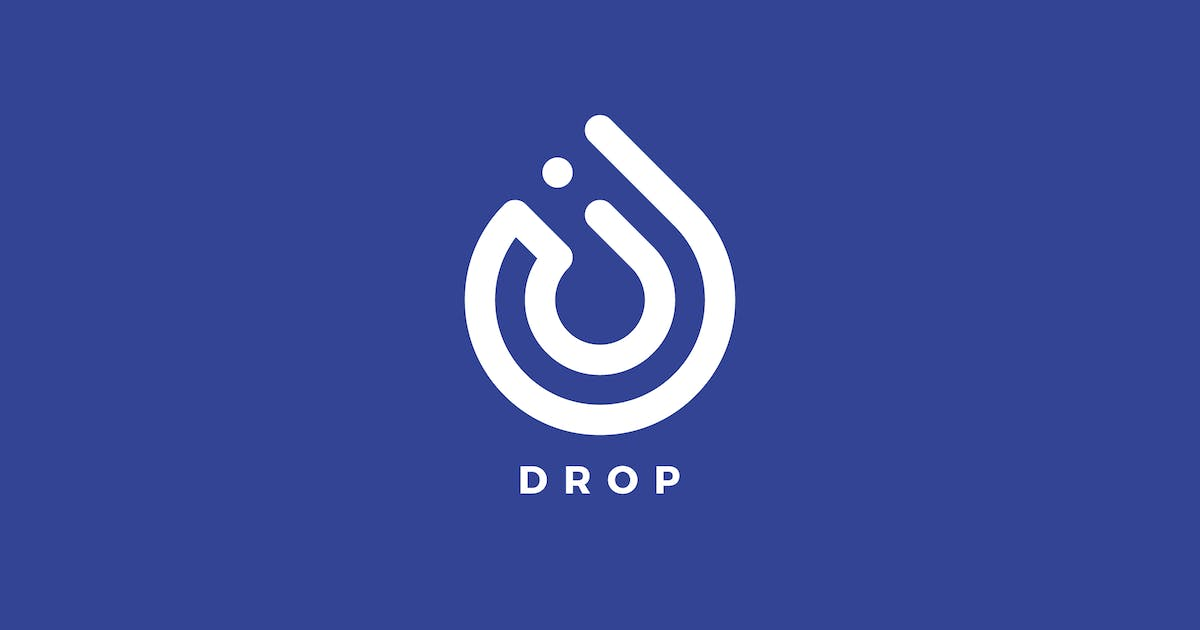 Download Drop Logo Template by MuseFrame
