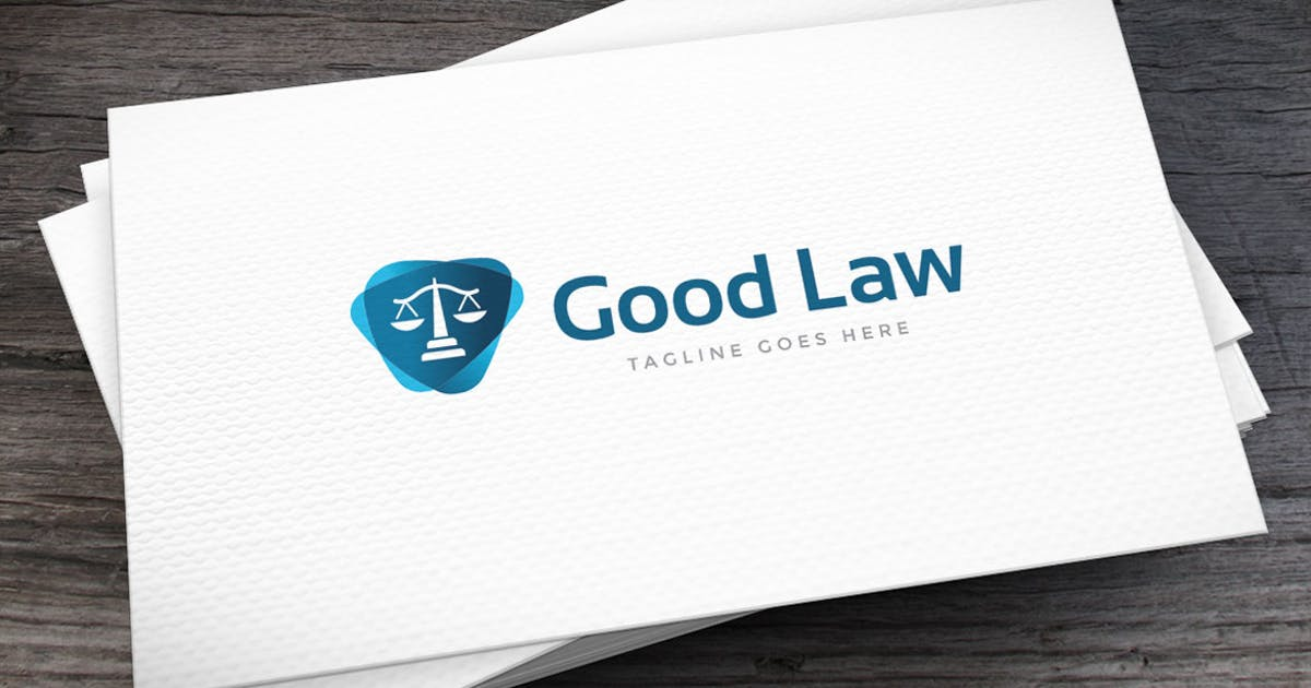 Download Good Law Logo Template by empativo