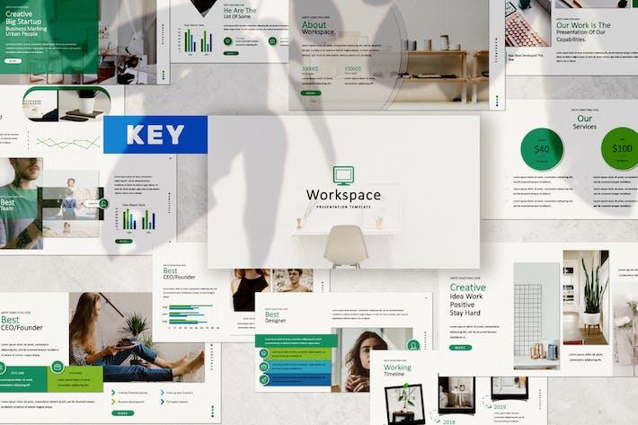 Thumbnail for Workspace Keynote Light