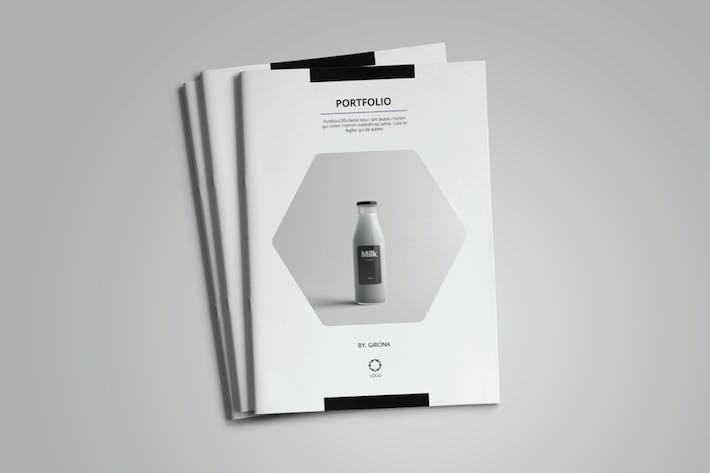 Thumbnail for Portfolio Template Vol. 4