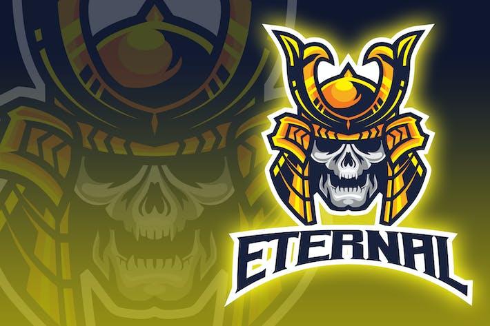 Thumbnail for Head Demon Ronin Esport Logo