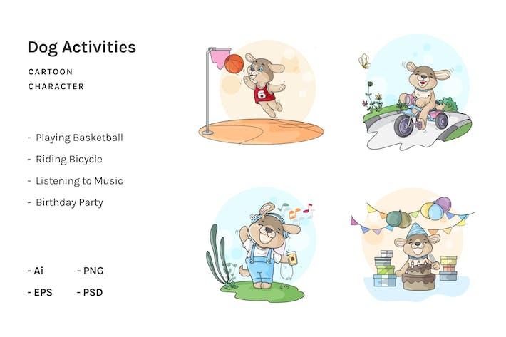 Thumbnail for Dog Cartoon Activities V.2