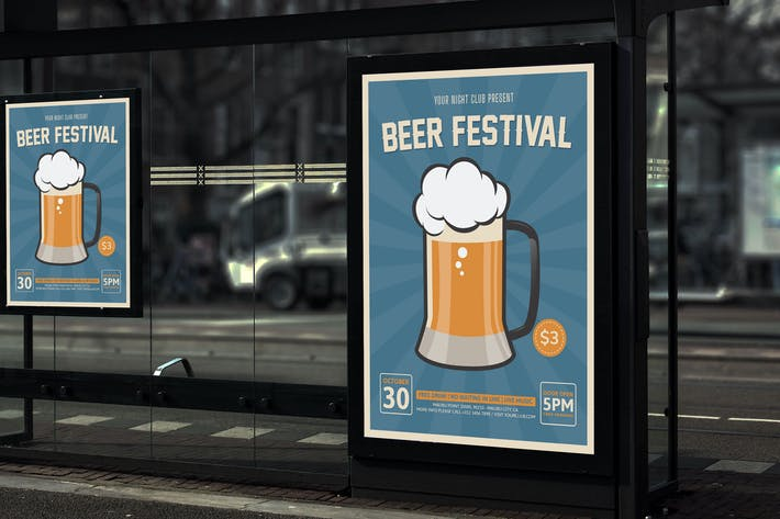 Thumbnail for Beer Festival v2 - Party Poster RB