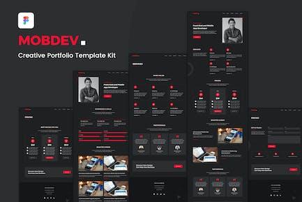 Mobdev - Creative Portfolio Website Template