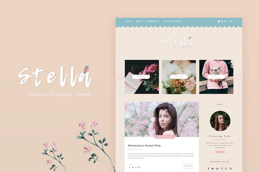 Stella - Classic Blogging Theme