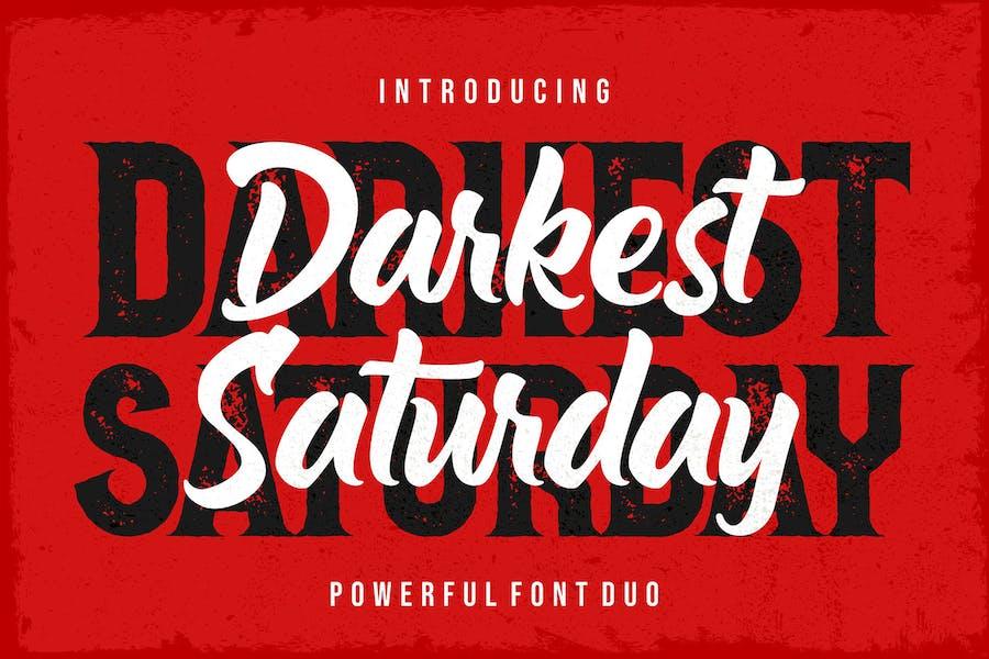 Darkest Saturday Duo
