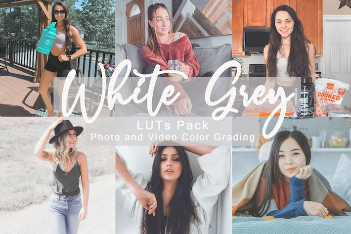 Thumbnail for White Grey -  LUTs Pack
