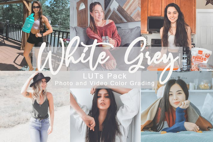 White Grey -  LUTs Pack