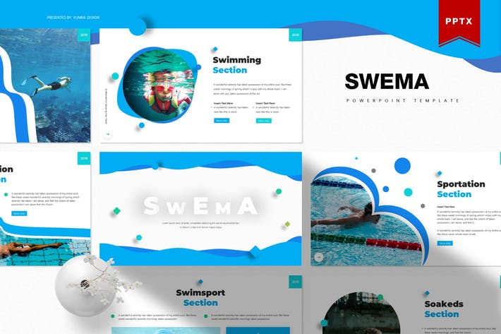 Thumbnail for Swema | Powerpoint Template