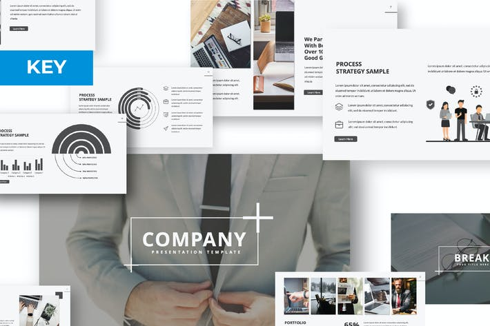 Thumbnail for Company Keynote Template