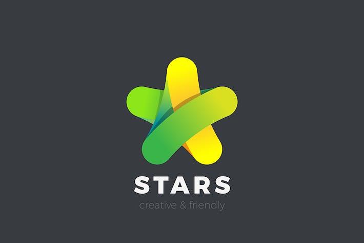 Thumbnail for Star Logo design vector Friendly Media style