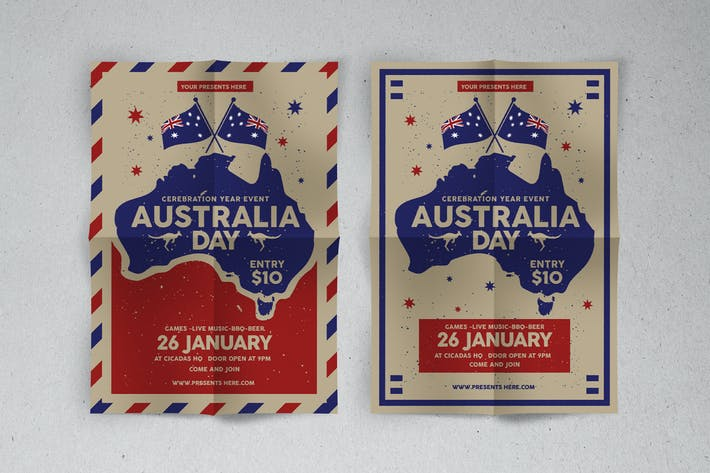 Thumbnail for Australia Day Flyer