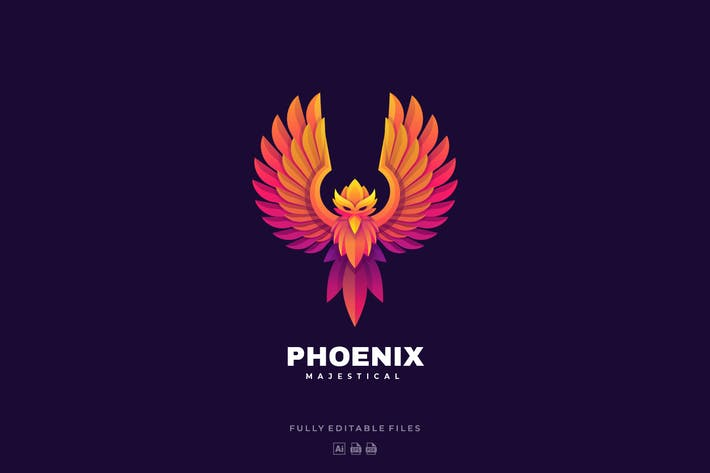 Thumbnail for Phoenix Gradient Colorful Logo