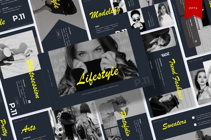 Thumbnail for Lifestyle | Powerpoint Template