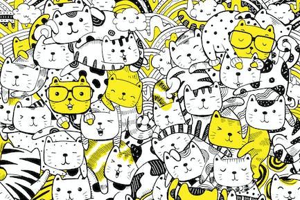 Gato y amigos