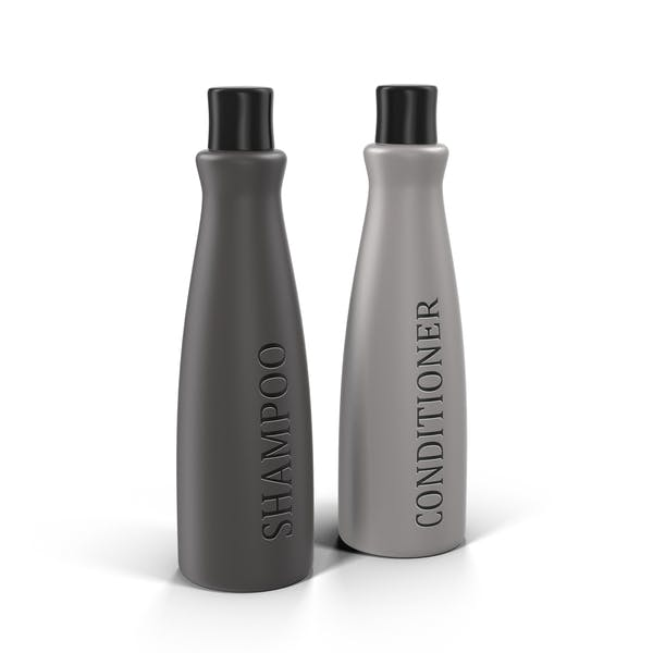 Shampoo and Conditioner Bottles