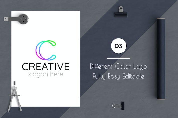 Thumbnail for Letter Based Creative Logo Template