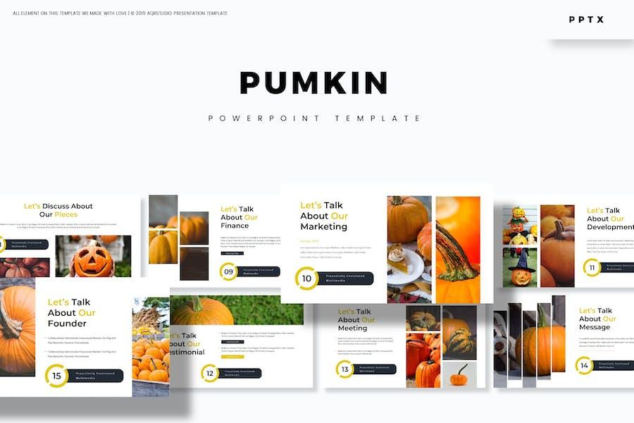 Pumpkin - Powerpoint Template