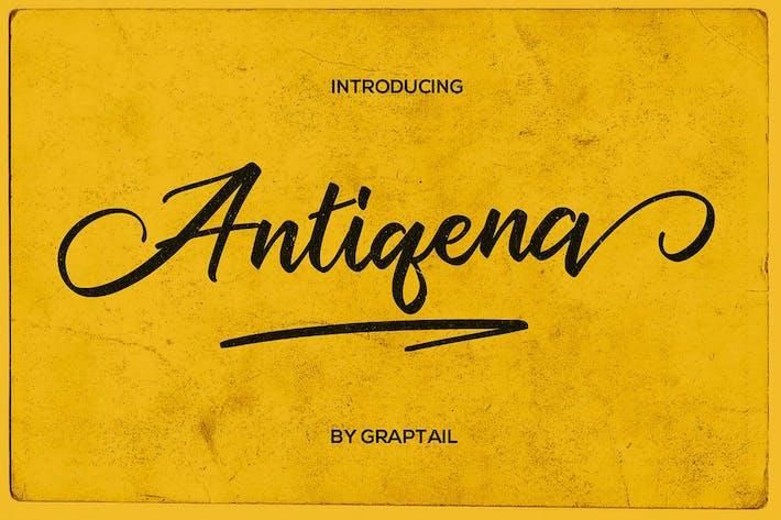 Thumbnail for Antiqena Script