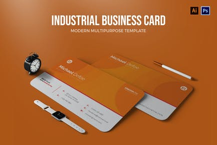 Industrial - Business Card