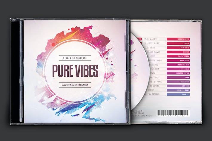 Thumbnail for Pure Vibes CD Cover Artwork