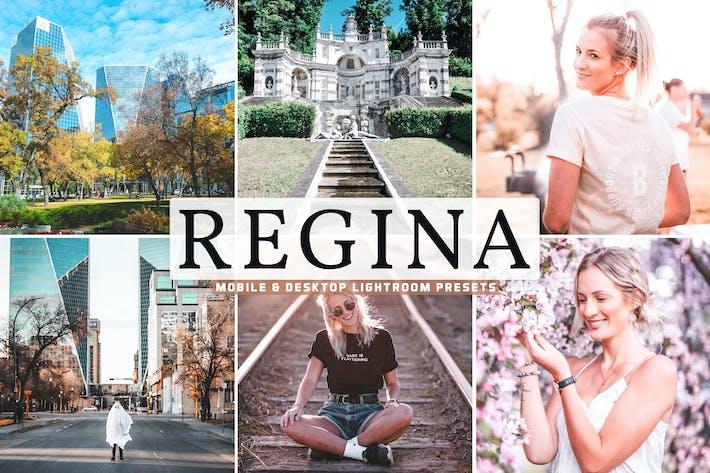 Thumbnail for Regina Mobile & Desktop Lightroom Presets