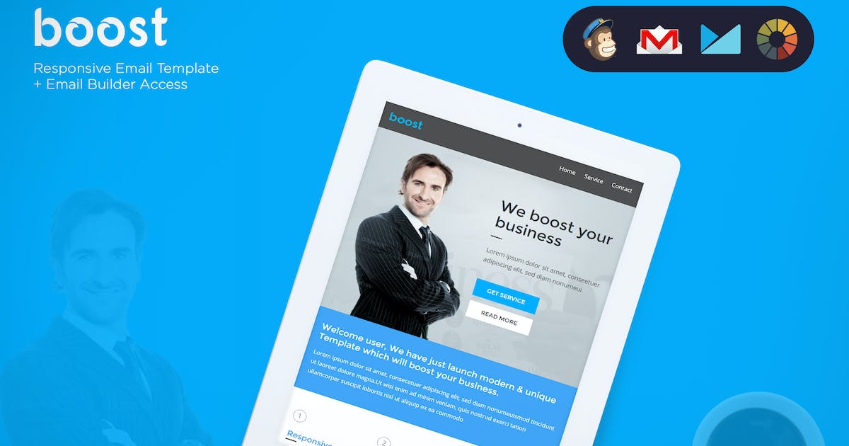 Download Boost - Corporate B2B Newsletter + Builder Access by eeemon