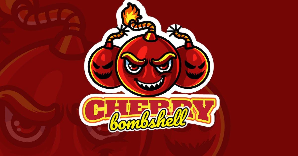 Download cherry bomb - Mascot Logo by aqrstudio