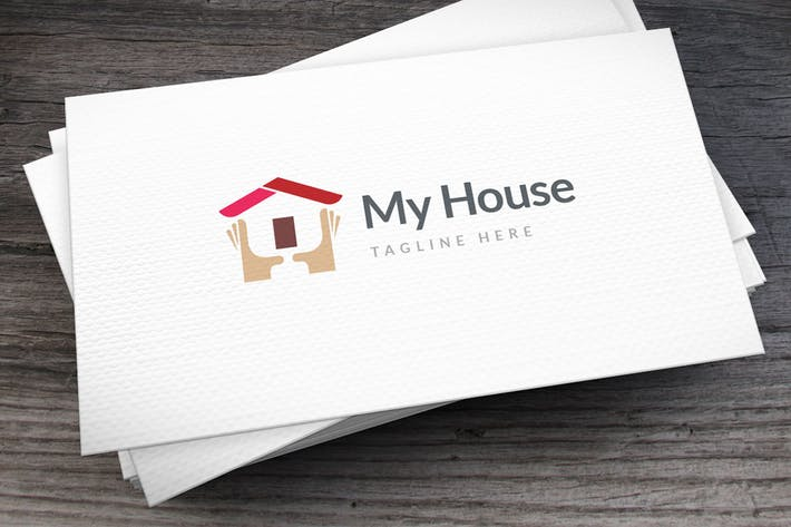 Thumbnail for Own House Logo Template