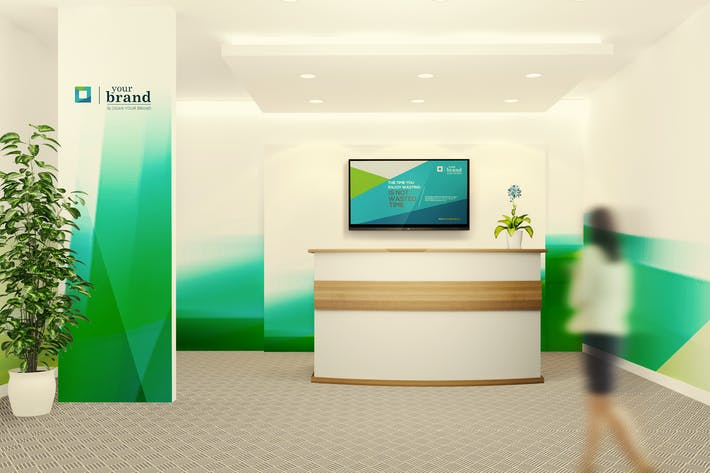 Thumbnail for Office Interior Branding Mockups V2