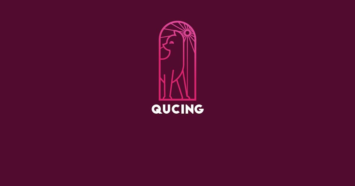 Qucing Logo Template by Ijajil