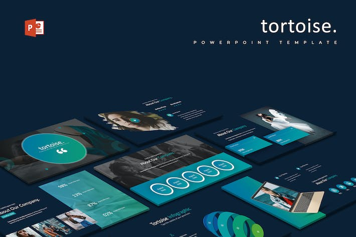 Thumbnail for Tortoise - Powerpoint Template