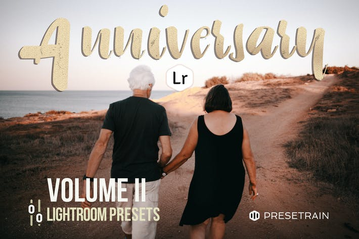 Thumbnail for Anniversary Lightroom Presets - Volume II