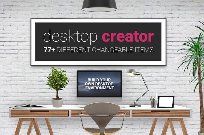 Thumbnail for Desktop Creator Mockup