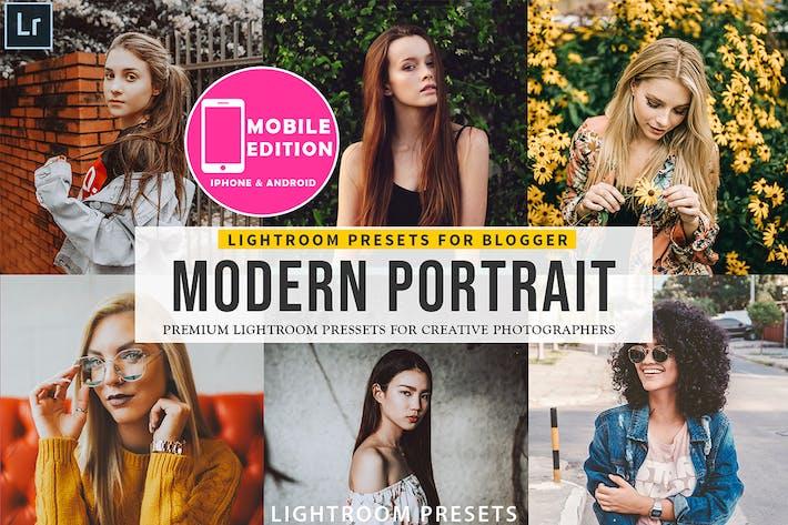Thumbnail for Modern Portait Ajustes preestablecidos de Lightroom