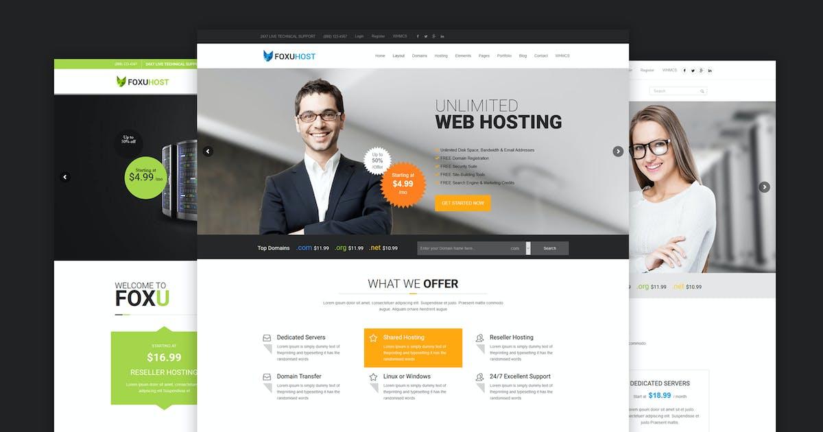 FoxuhHost - Web Hosting WordPress Theme + WHMCS by Theme-Squared