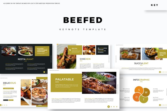 Thumbnail for Beefed - Keynote Template
