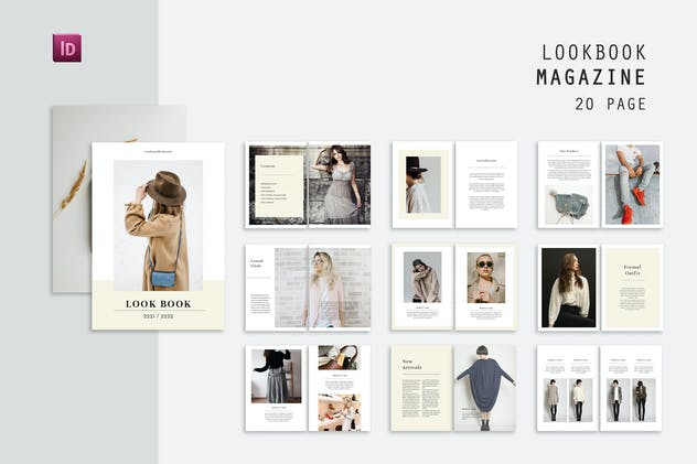 Outfit Lookbook Magazine
