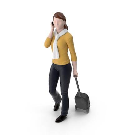 Miniatura Mujer Viajera