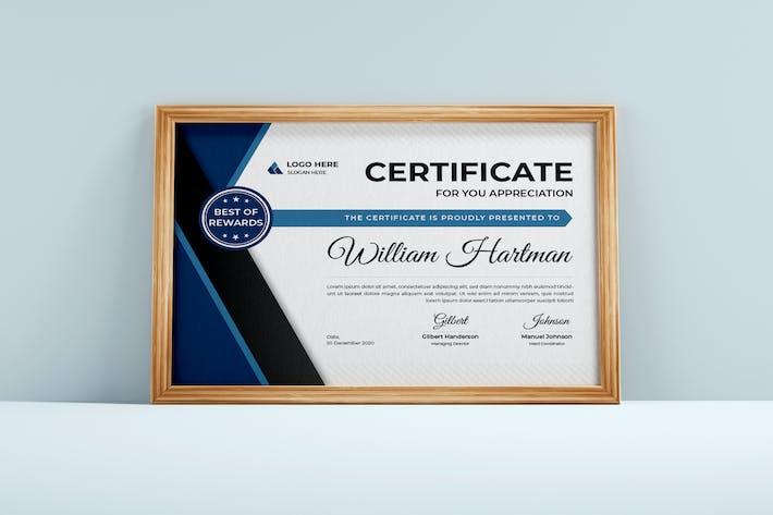 Modern Achievement Certificate