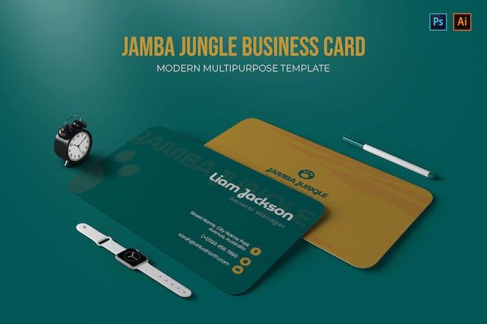 Jamba Jungle - Business Card