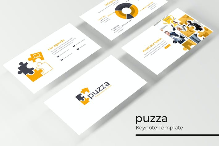 Thumbnail for Puzza - Keynote Template