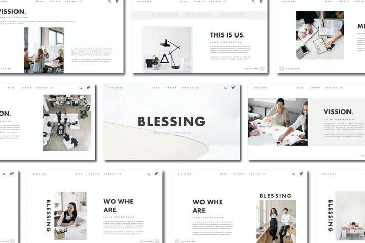 Thumbnail for Blessing - Powerpoint Template