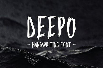 Deepo - Handwriting Font