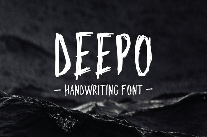 Thumbnail for Deepo - Handwriting Font