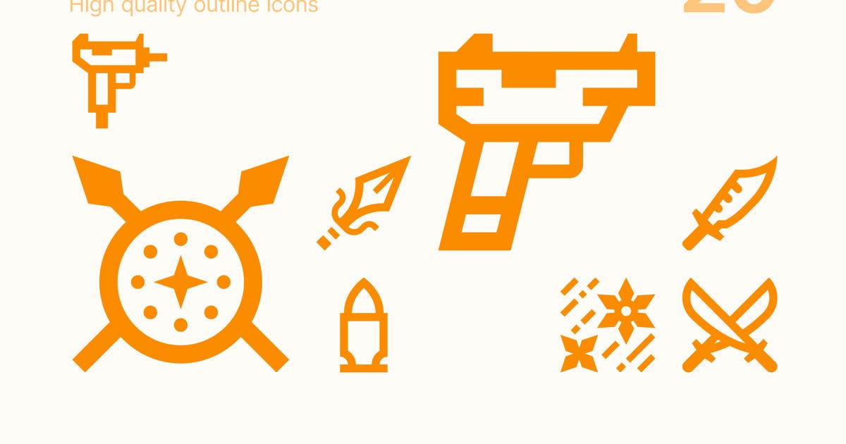 Download Weapons & Armor Icons by polshindanil