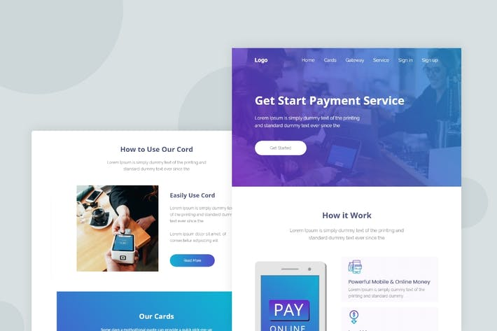 Thumbnail for Payment Solution - Email Newsletter