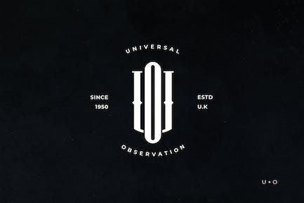 UO Monogramm Logo