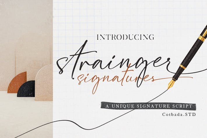 Fuente de firmas de Strainger