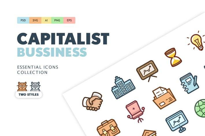 Thumbnail for Capitalist Icons: Bussiness